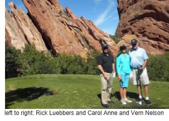 Rick, Carol Anne, and Vern