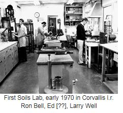 First Soils Lab